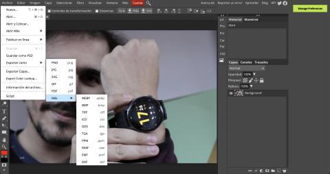 Como funciona Photopea