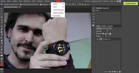 Cómo funciona Photopea
