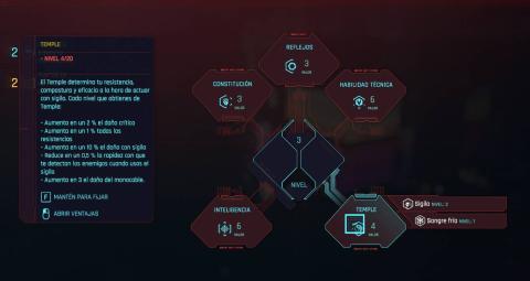 cyberpunk atributos