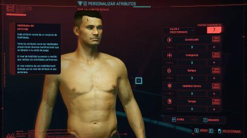 cyberpunk creacion personaje