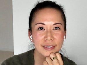 Eurie Kim, con su anillo Oura