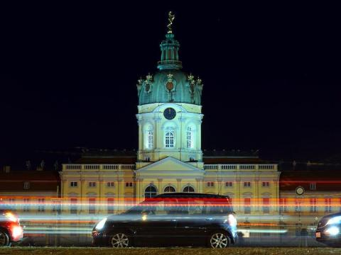 El Palacio de Charlottenburg en Berlín, Alemania, el 24 de noviembre de 2020.