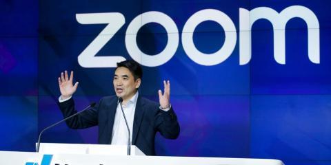 El fundador de Zoom, Eric Yuan
