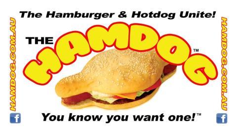 Hamdog por fuera