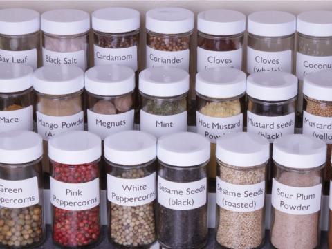 Las hierbas y especias añaden sabor, no calorías.