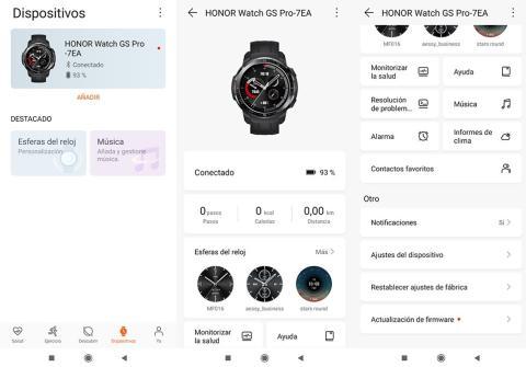 App Salud de Huawei.