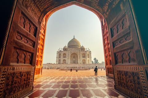 La India.