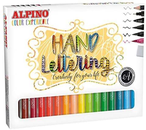 Kit Hand Lettering Alpino
