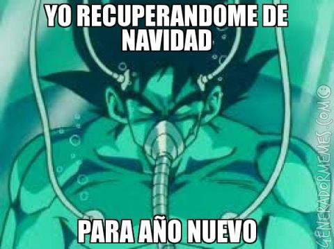 Meme Goku Navidad