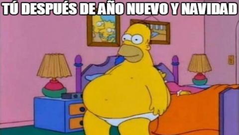 Meme Homer Navidad