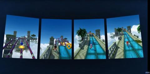 Modo multijugador de Sonic Forces