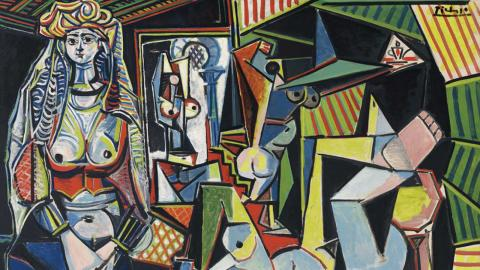 'Las mujeres de Argel', de Pablo Picasso.