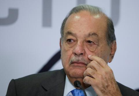 El multimillonario mexicano Carlos Slim