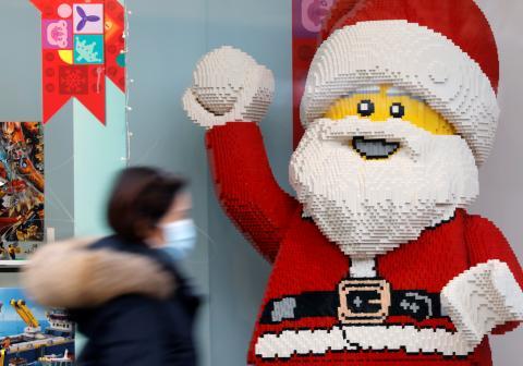 Navidad, Lego papa noel