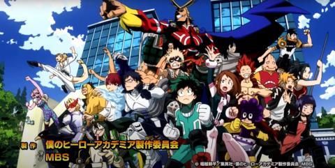 Opening My Hero Academia