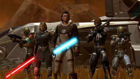 Personajes de Star Wars The Old Republic