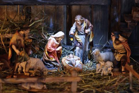 Portal de Belén, Navidad
