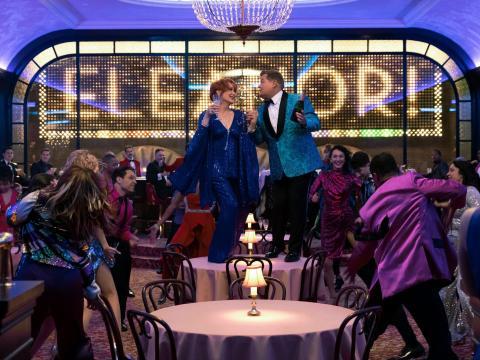 Meryl Streep y James Corden en 'The Prom'.