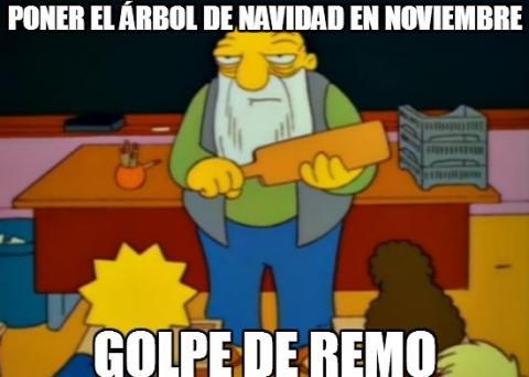 Los Simpsons Navidad meme