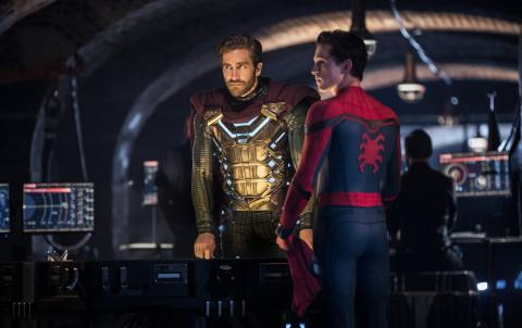 A falta de imágenes sobre Spider-Man 3, he aquí un momentillo de Far From Home.