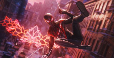 'Spider-Man Miles Morales', juego de lanzamiento de PS5.