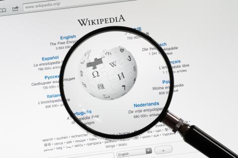 Wikipedia home