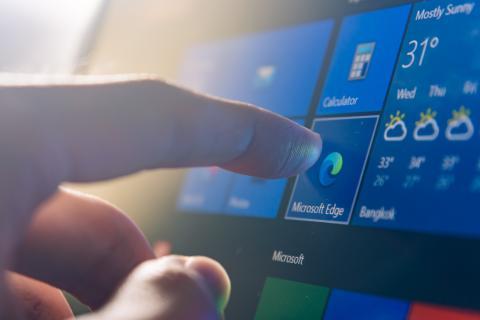 Windows 10 interfaz