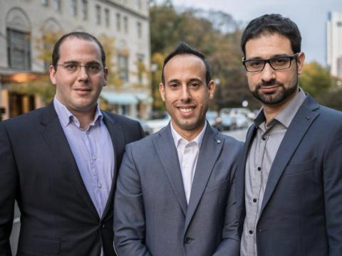 Yonatan Striem-Amit, Lior Div y Yossi Naar, fundadores de Cybereason.