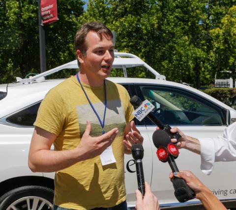 Para 2014, Urmson había afianzado su posición como jefe de Chauffeur, y al mismo tiempo, como su cara visible.