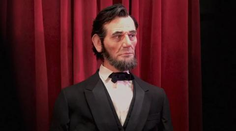 El animatrónico de Abraham Lincoln de los parques Disney.