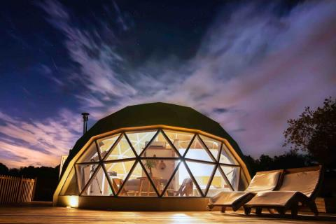 Airbnb cúpula