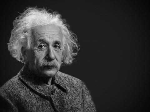 Albert Einstein es el padre de la Teoría de la Relatividad (Pixabay)