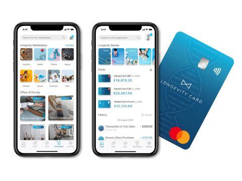 App de Longevity Card