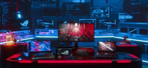 Asus hace gala de su ecosistema para gamers lanzando 3 portátiles, 1 monitor y varios periféricos