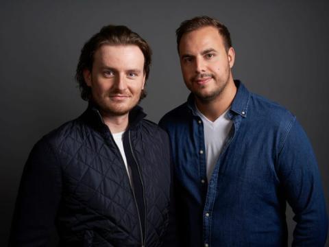Eric Demuth y Paul Klanschek, fundadores de Bitpanda.