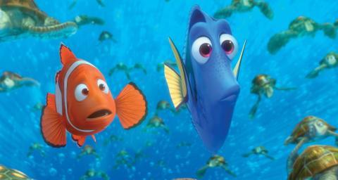 Buscando a Nemo de Pixar