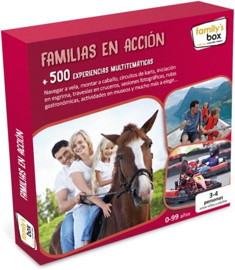 Caja experiencias familias en acción