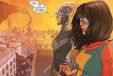 Capitana Marvel Ms. Marvel