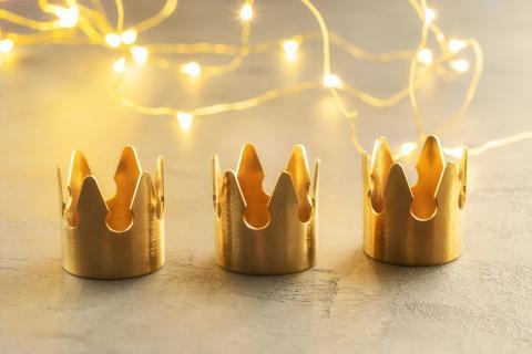 Coronas de los Reyes Magos.