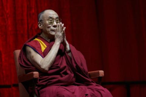 El Dalai Lama recibió el Premio Nobel de la Paz en 1989 (Wikimedia)
