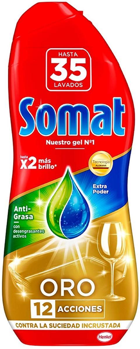Detergente líquido Somat Oro