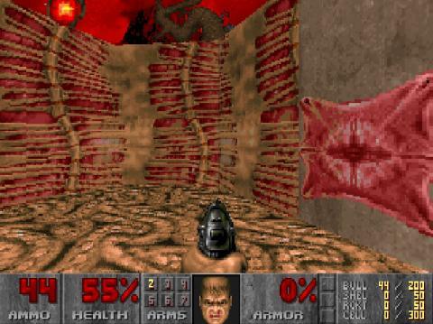 Doom fue pionero en los juegos de disparos en primera persona (Internet Archive)