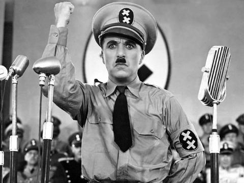 El gran dictador, películas de Chaplin