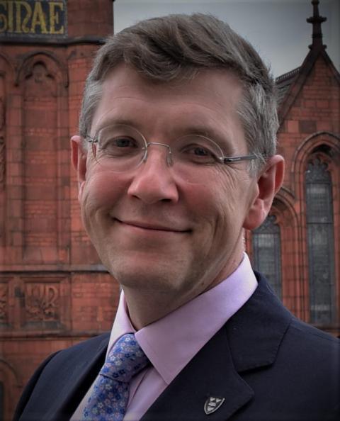 Iain Buchan, profesor clínico de Informática de Salud Pública en la Universidad de Liverpool.
