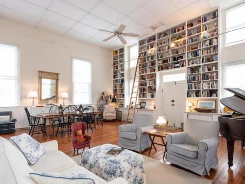Iglesia histórica convertida en cabaña en Waterford, Virginia, 164 euros la noche