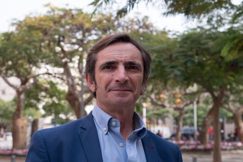 Javier Vargas, CEO de e-log.