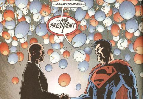 Lex Luthor presidente