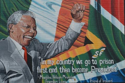 Mandela fue presidente de Sudáfrica tras 27 años encarcelado (Pixabay)