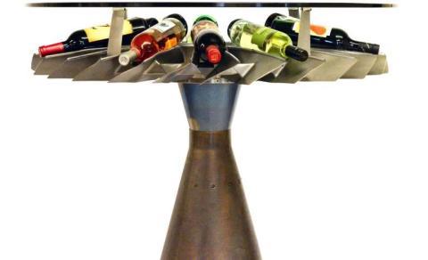 Mesa vinos Boeing