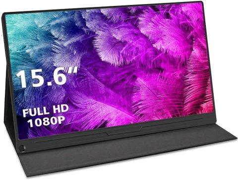 Monitor portátil de 15,6 pulgadas